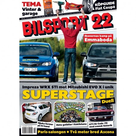Bilsport nr 22 2008