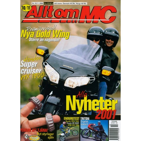 Allt om MC nr 10  2000