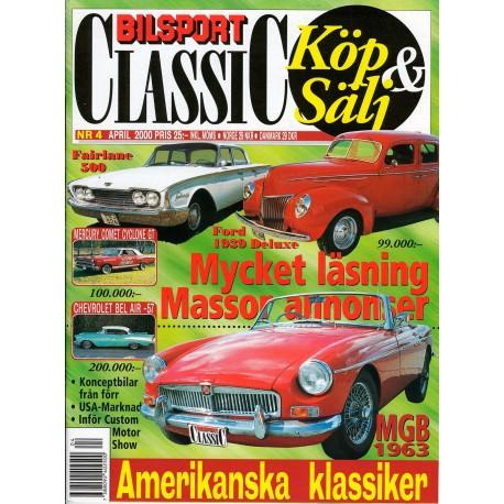 Bilsport Classic nr 4  2000