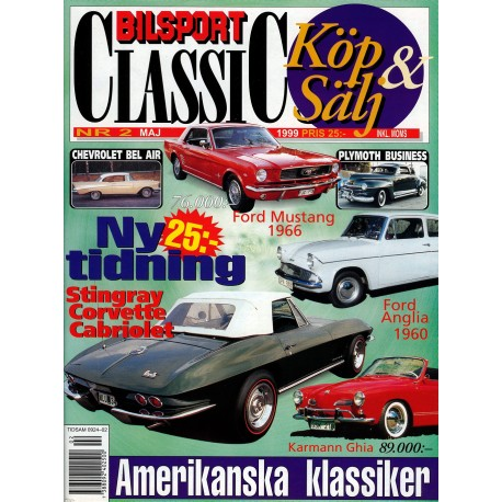 Bilsport Classic nr 2  1999