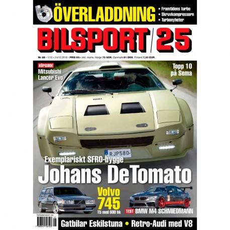 Bilsport nr 25 2016