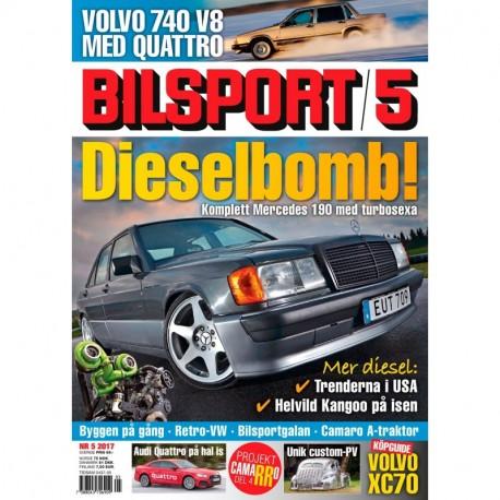 Bilsport nr 5 2017