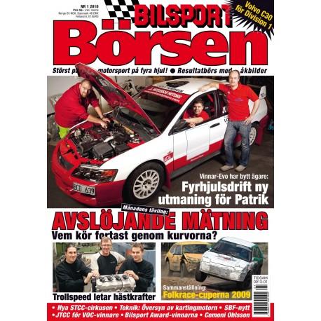 Bilsport Börsen nr 1 2010