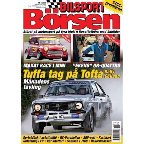 Bilsport Börsen nr 6 2009