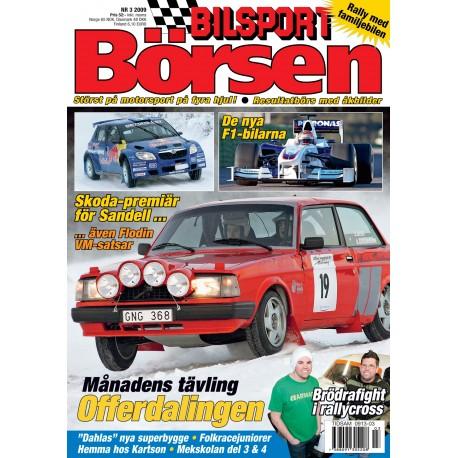 Bilsport Börsen nr 3 2009