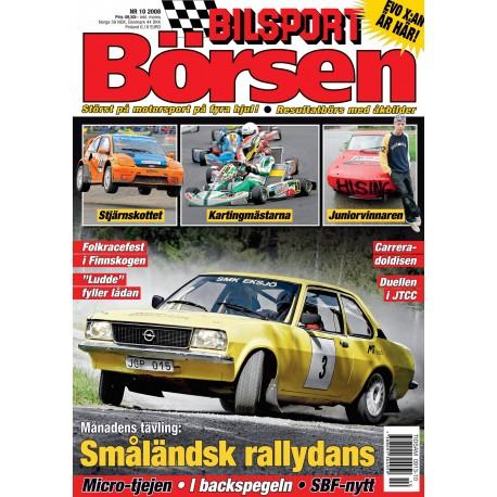 Bilsport Börsen nr 10 2008