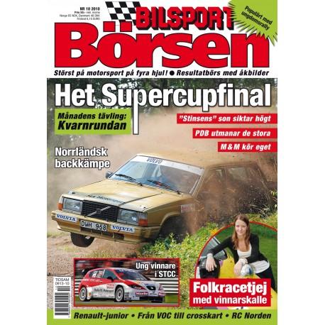 Bilsport Börsen nr 10 2010