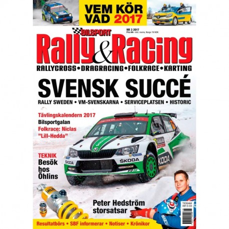 Bilsport Rally & Racing nr 3 2017