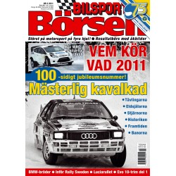 Bilsport Börsen nr 2 2011