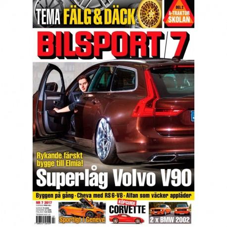 Bilsport nr 7 2017