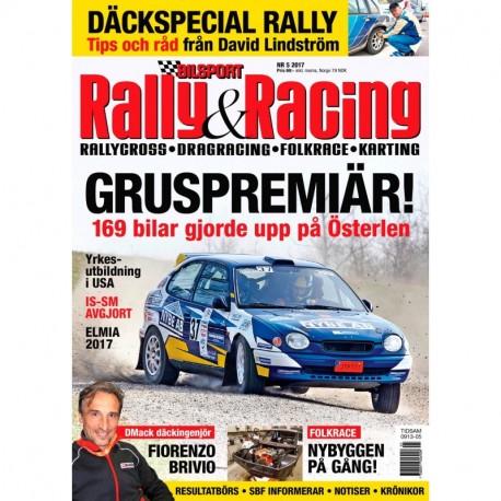 Bilsport Rally & Racing nr 5 2017