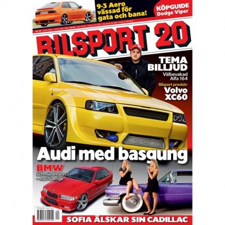 Bilsport nr 20 2008