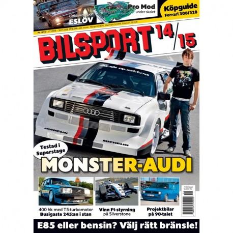 Bilsport nr 14 2008
