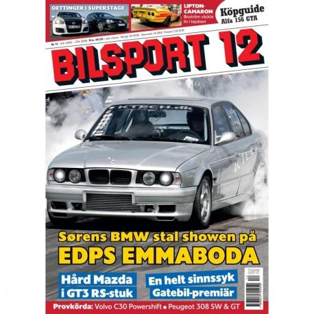 Bilsport nr 12 2008
