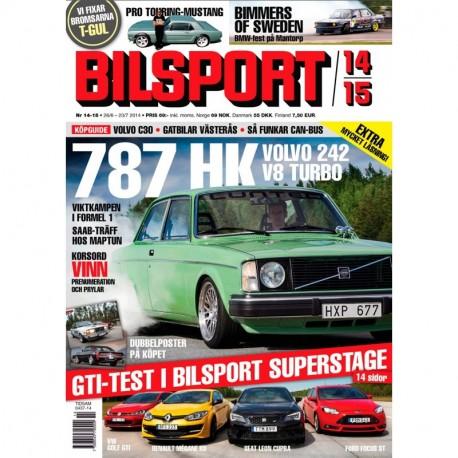 Bilsport nr 14 2014