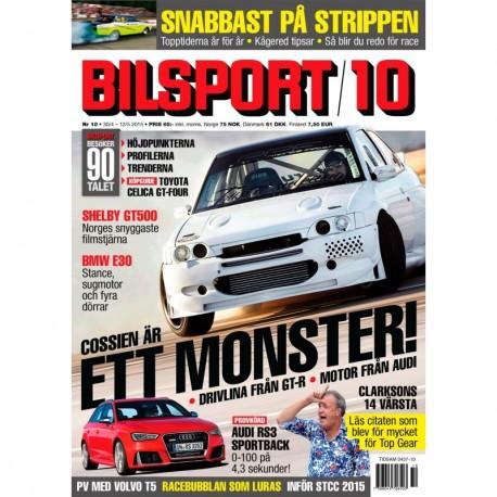 Bilsport nr 10 2015
