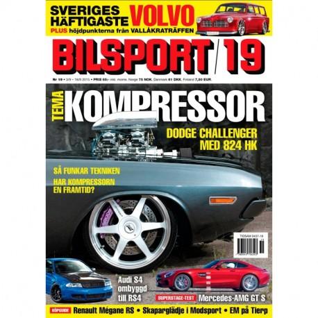 Bilsport nr 19 2015