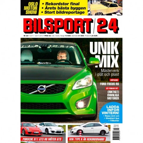 Bilsport nr 24 2015
