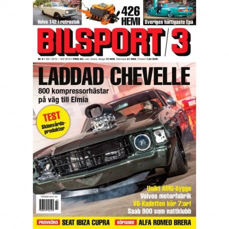 Bilsport nr 3 2016