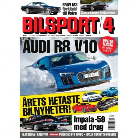 Bilsport nr 4 2016