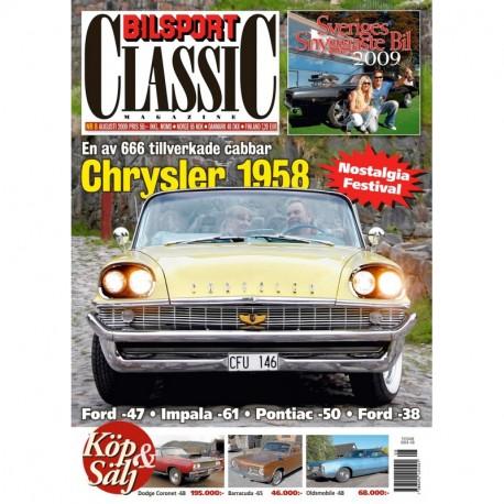 Bilsport Classic nr 8 2009